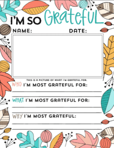 photograph relating to Printable Thanksgiving Activity titled Totally free Printable Thanksgiving Things to do for Children - Considering that I